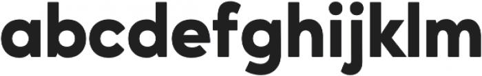 Ageo Heavy otf (800) Font LOWERCASE