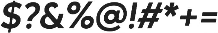 Ageo otf (700) Font OTHER CHARS