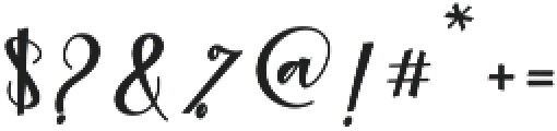 Agnesia Regular ttf (400) Font OTHER CHARS