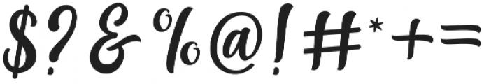 Agnetha Regular otf (400) Font OTHER CHARS