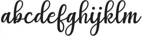 Agnetha Regular otf (400) Font LOWERCASE
