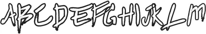 Agnez otf (400) Font UPPERCASE