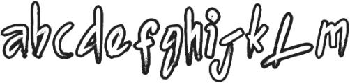 Agnez otf (400) Font LOWERCASE