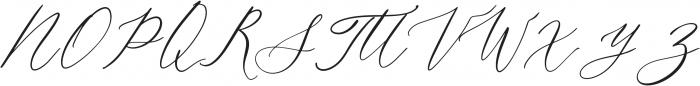 AgoniaLyubvi Regular ttf (400) Font UPPERCASE