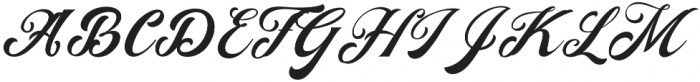 Agradiant otf (400) Font UPPERCASE