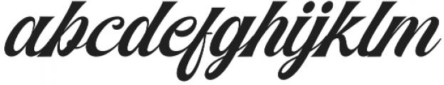Agradiant otf (400) Font LOWERCASE