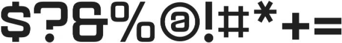 Aguda Black Regular otf (900) Font OTHER CHARS