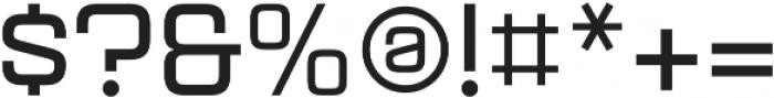 Aguda Bold Regular otf (700) Font OTHER CHARS