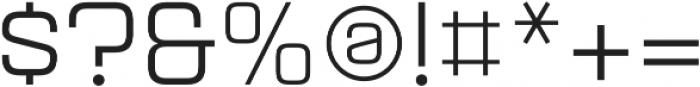 Aguda Regular Regular otf (400) Font OTHER CHARS