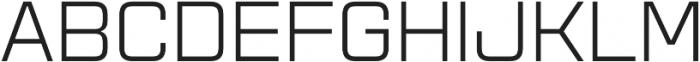 Aguda Regular Unicase Regular otf (400) Font UPPERCASE