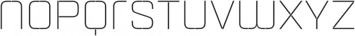 Aguda Stencil 1 Light Unicase Regular otf (300) Font LOWERCASE