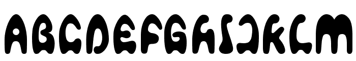 Agafont Font UPPERCASE