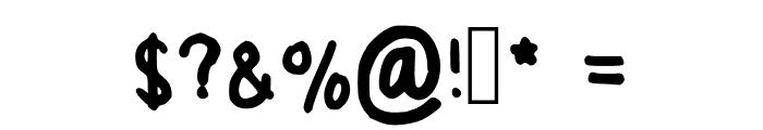 Again Regular Font OTHER CHARS