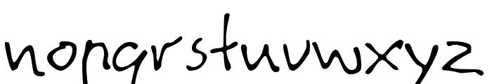 Agata Font LOWERCASE