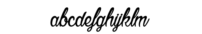 Agatha Needs Flesh Font LOWERCASE