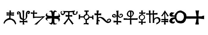 Agathodaimon Font UPPERCASE