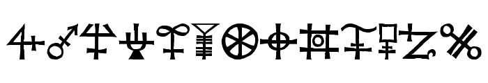 Agathodaimon Font LOWERCASE