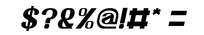 Age of Awakening Italic Font OTHER CHARS