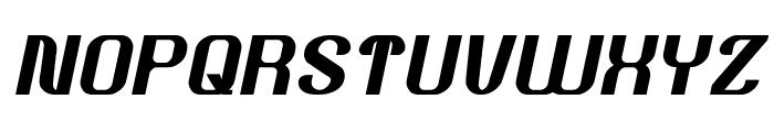 Age of Awakening Italic Font UPPERCASE