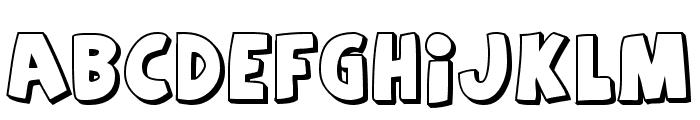 Agent Orange Font UPPERCASE
