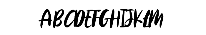 Aggitha Font UPPERCASE