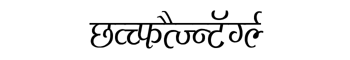 Agra Condensed Font UPPERCASE