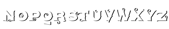 AgreloyOut1 Font UPPERCASE