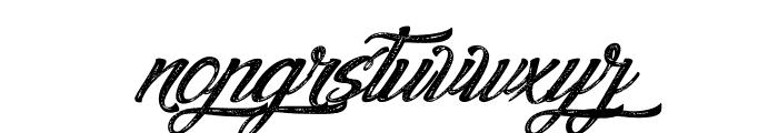 Agua deJamaica-Italic Font LOWERCASE