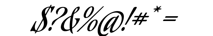 AguafinaScript-Regular Font OTHER CHARS