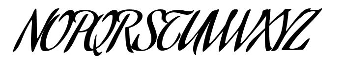 AguafinaScript-Regular Font UPPERCASE
