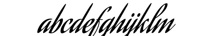 AguafinaScript-Regular Font LOWERCASE