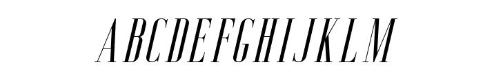 Aguero Serif Free Italic Font LOWERCASE