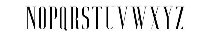 Aguero Serif Free Regular Font UPPERCASE