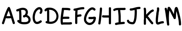 Agym Font UPPERCASE