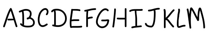 AgymLight Font UPPERCASE