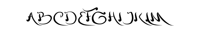 agriculture Font UPPERCASE