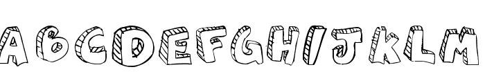 aguzlo Font LOWERCASE