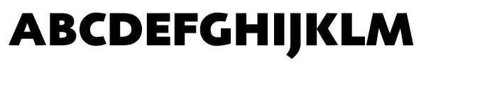 Agilita Black Font UPPERCASE