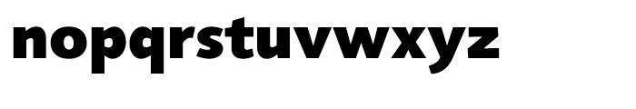 Agilita Black Font LOWERCASE