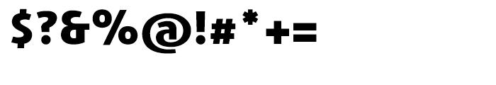 Agilita Heavy Font OTHER CHARS