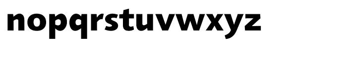 Agilita Heavy Font LOWERCASE