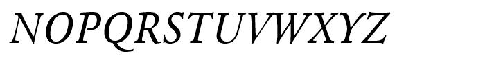 Agmena Italic Font UPPERCASE