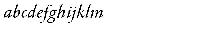 Agmena Italic Font LOWERCASE