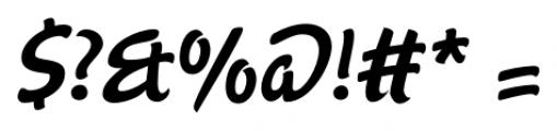 Agent Regular Font OTHER CHARS
