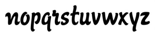 Agent Regular Font LOWERCASE
