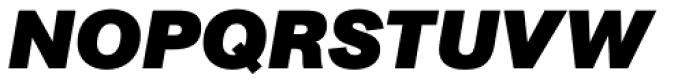 AG Book Pro Black Italic Font UPPERCASE