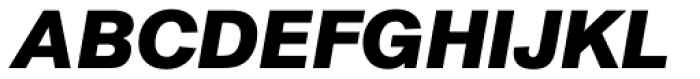 AG Book Pro Bold Italic Font UPPERCASE