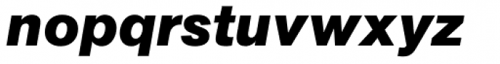 AG Book Pro Bold Italic Font LOWERCASE