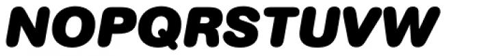AG Book Rounded Pro Black Italic Font UPPERCASE