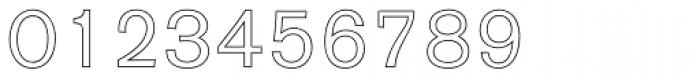 AG Old Face BQ Outline Font OTHER CHARS